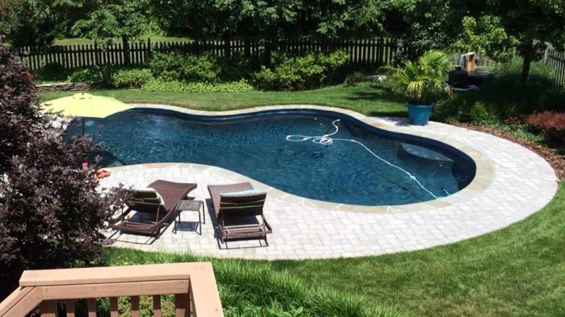 Pool builder in northern virginia and maryland for Pool design northern virginia